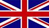 Die Farben der britischen Flagge