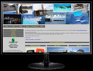 Einfache, günstige Website
