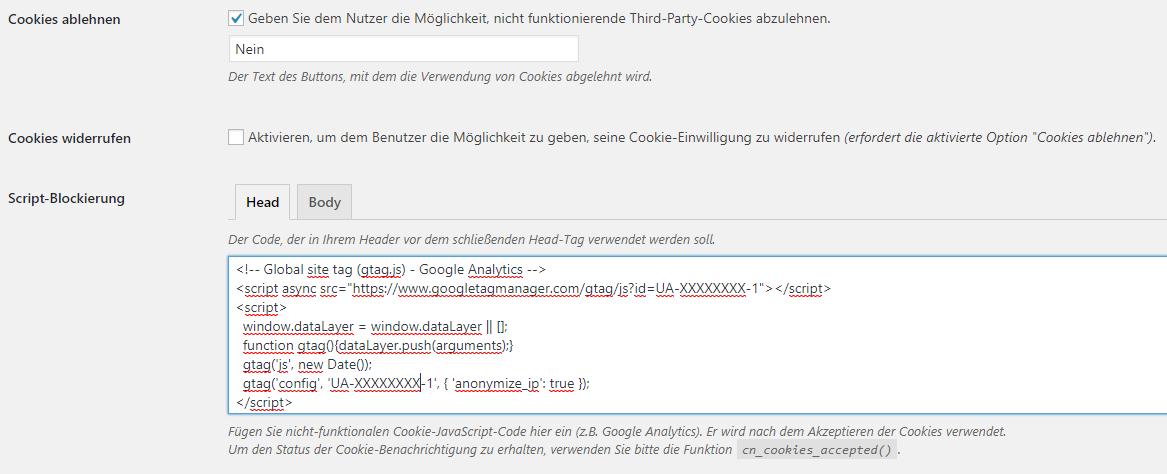 website_google_analytics_opt-in_verfahren_opt-out-verfahren_cookie_hinweis_anonymize_ip